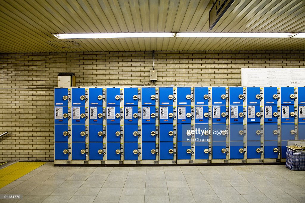 Lockers : Stock Photo