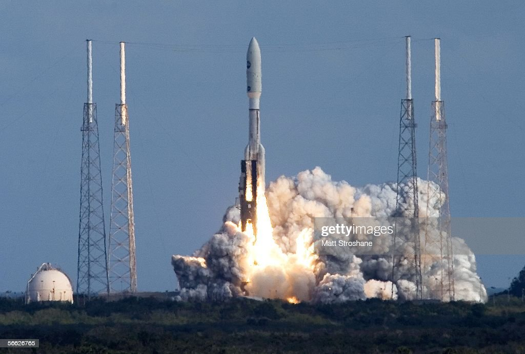 NASA Spacecraft Lifts Off For Historic Mission To Pluto : News Photo