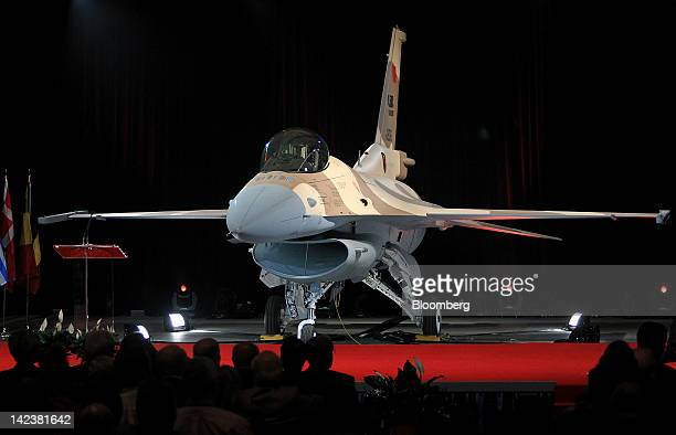 Lockheed Martin Corp's F16 Fighting Falcon jet is brought out during a ceremony to commemorate the 4500th delivery of the plane at the company's...