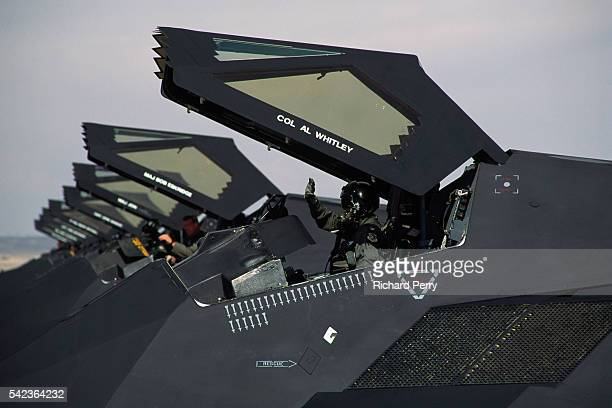 Lockheed Martin F117A Nighthawk during the Gulf War