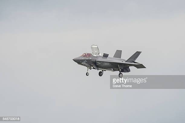 Lockheed Martin F35B Lightning II at RAF Fairford on July 9 2016 in Fairford England