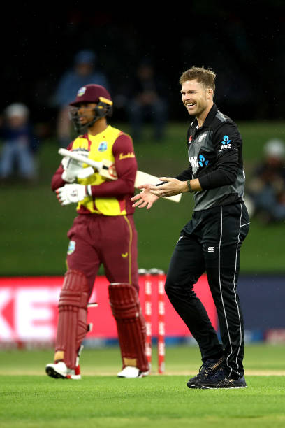 NZL: New Zealand v West Indies - T20 Game 3
