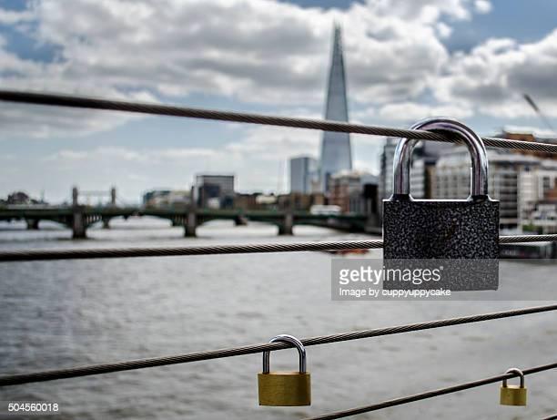 Locks on the Millennium bridge