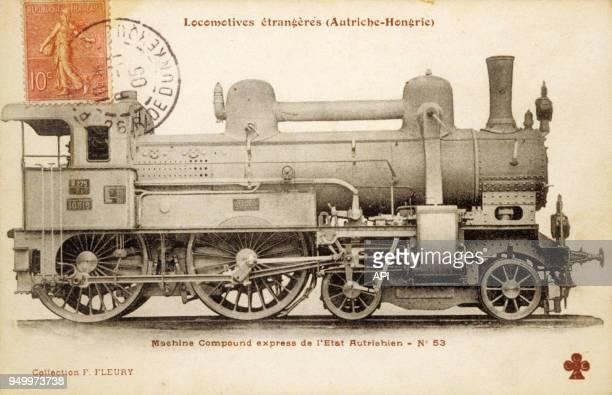Locomotive autrichienne à vapeur compound express créée dans l'exempire d'AutricheHongrie