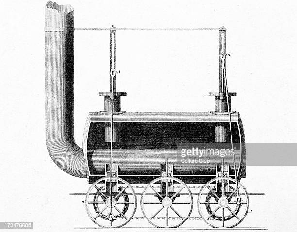 Locomotive designed by Robert Stephenson and W Losh 1815RS English civil engineer