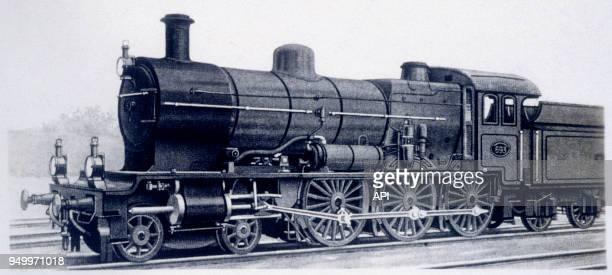 Locomotive hollandaise à vapeur quatre cylindres, Pays-Bas.