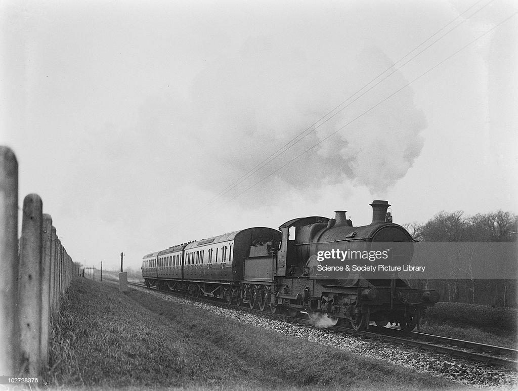 GWR locomotive no. 3417 at Landkey. : News Photo
