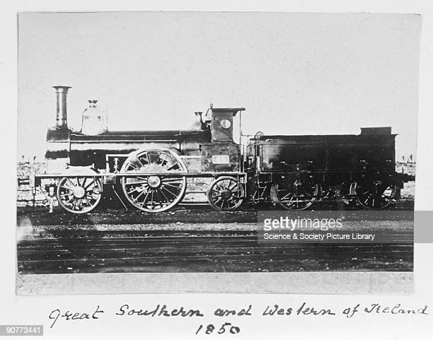 Locomotive number 48 1850 This locomotive operated on the Great Southern and Western of Ireland lines The GS WR had close links with British Railway...