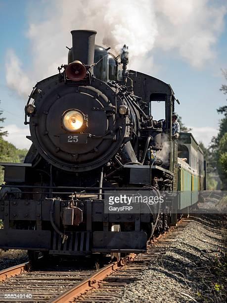 Locomotive OCSR Steam McCloud Railway No. 25 Engineer Garibaldi Oregon