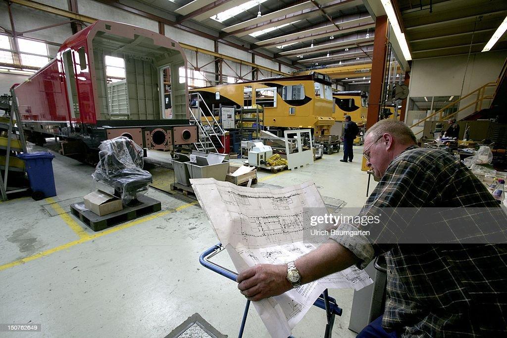 GERMANY, MUNICH, locomotive plant of the Siemens Industry