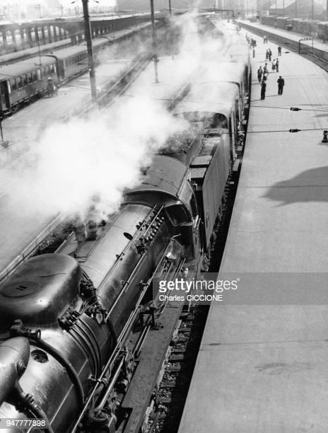 Locomotive à vapeur 141P de la SNCF en France