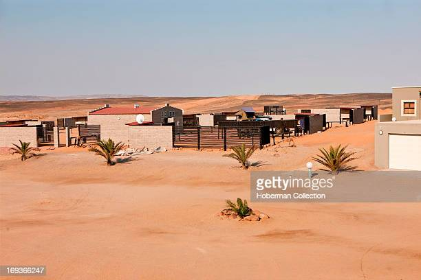 Lodge and beach at Cape Cross in nAMIBIA