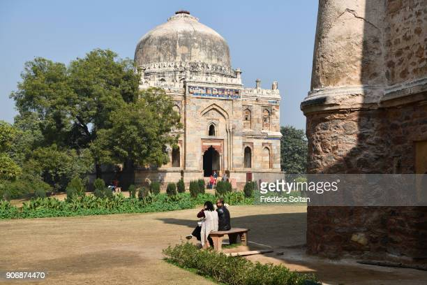 Lodi Gardens or Lodhi Gardens is a city park situated in New Delhi India It contains Mohammed Shah's Tomb Tomb of Sikandar Lodi Shisha Gumbad and...