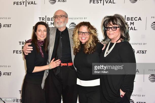 Lodi Loder Anthony Loder Wendy Colton and Denise Loder DeLuca attend the 2017 Tribeca Film Festival 'Bombshell The Hedy Lamarr Story' screening at...