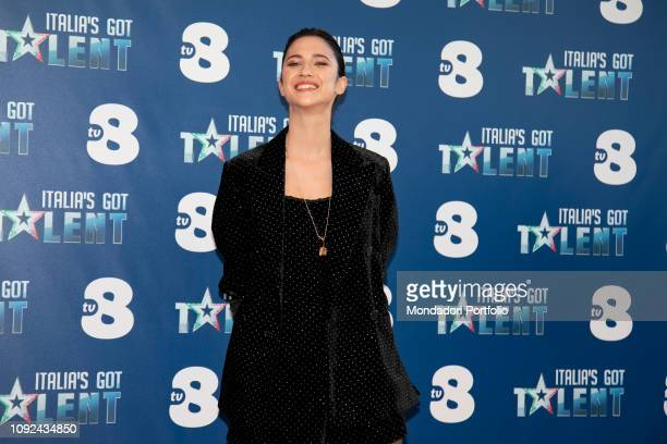 Lodovica Comello at the press conference for the presentation of the Judges of the talent show Italia s Got Talent Milan January 10th 2019