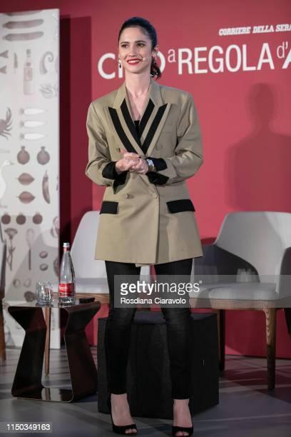 Lodovica Comello attends the Cibo A Regola D'Arte 2019 at Fabbrica del Vapore on May 19 2019 in Milan Italy
