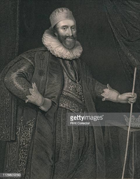 'Lodowick Stuart Duke of Richmond' Portrait of Scottish nobleman and politician Ludovic Stewart 2nd Duke of Lennox and 1st Duke of Richmond Stewart...