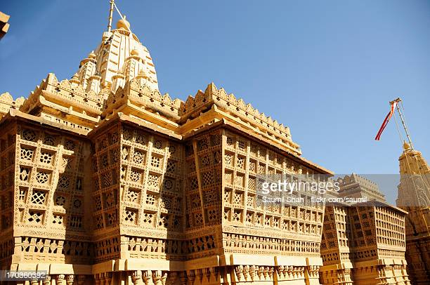 lodurva jain temple - jain temple stock photos and pictures