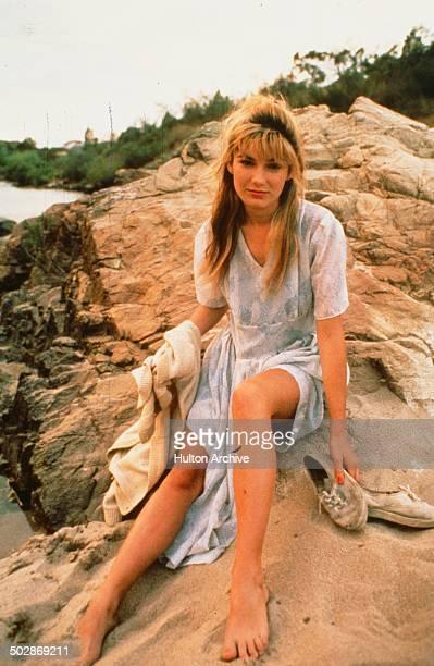 Loene Carmen poses for the movieThe Year My Voice Broke circa 1987