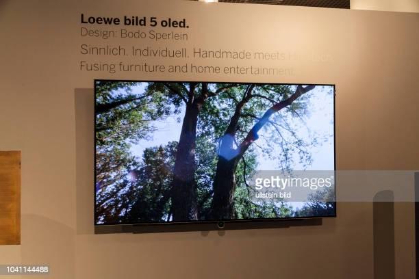 Loewe Fernseher Oled auf der IFA in Berlin 2017