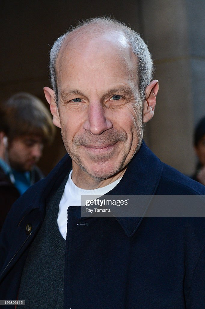 Loews Hotels Chairman Jonathan Tisch enters the NBC Rockefeller Center Studios on November 21, 2012 in New York City.
