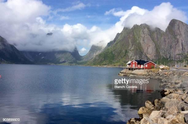 Lofoten Island in Norwey in summer