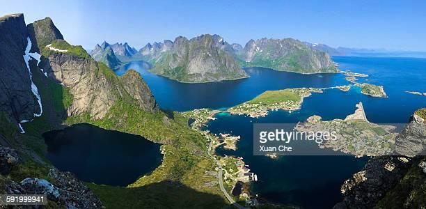 Lofoten islands at Reine
