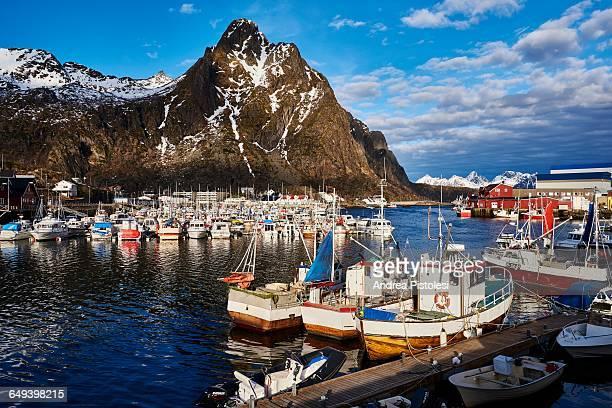 Lofoten Islands in Winter, Norway