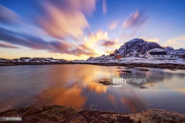 isole lofoten, norvegia - cultura norvegese foto e immagini stock