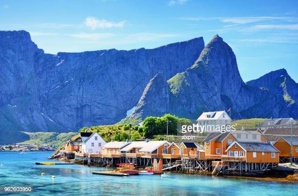 lofoten islands, norway - norway stock pictures, royalty-free photos & images