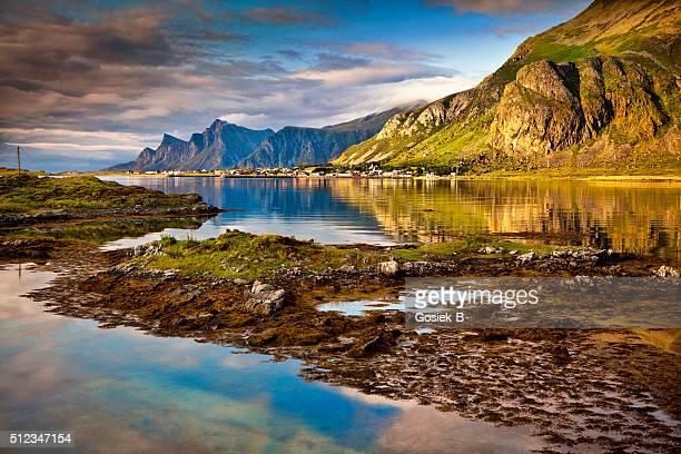 Lofoten, paysage, Ramberg, Norvège