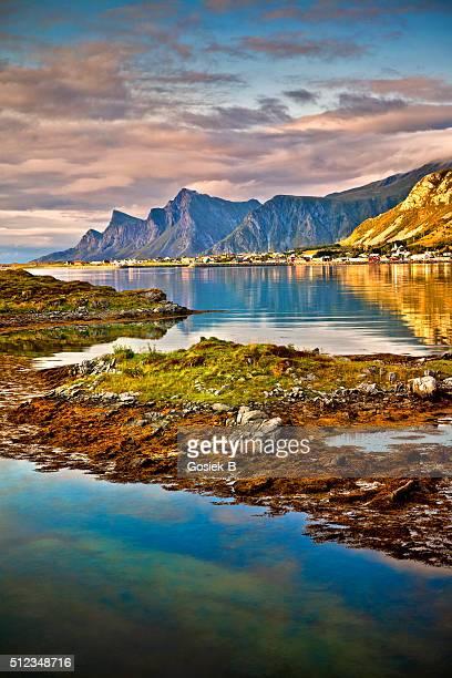 Lofoten, Landschaft, Ramberg, Norwegen
