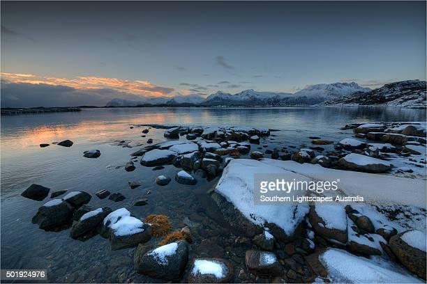 Lofoten Peninsular, winter wonderland, Arctic circle, Norway