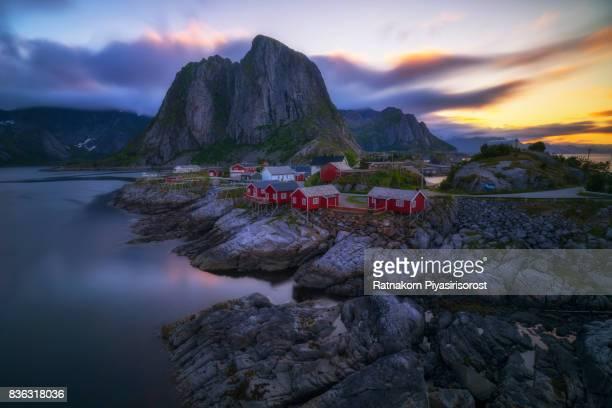 Lofoten Scenery - Hamnoy Village.