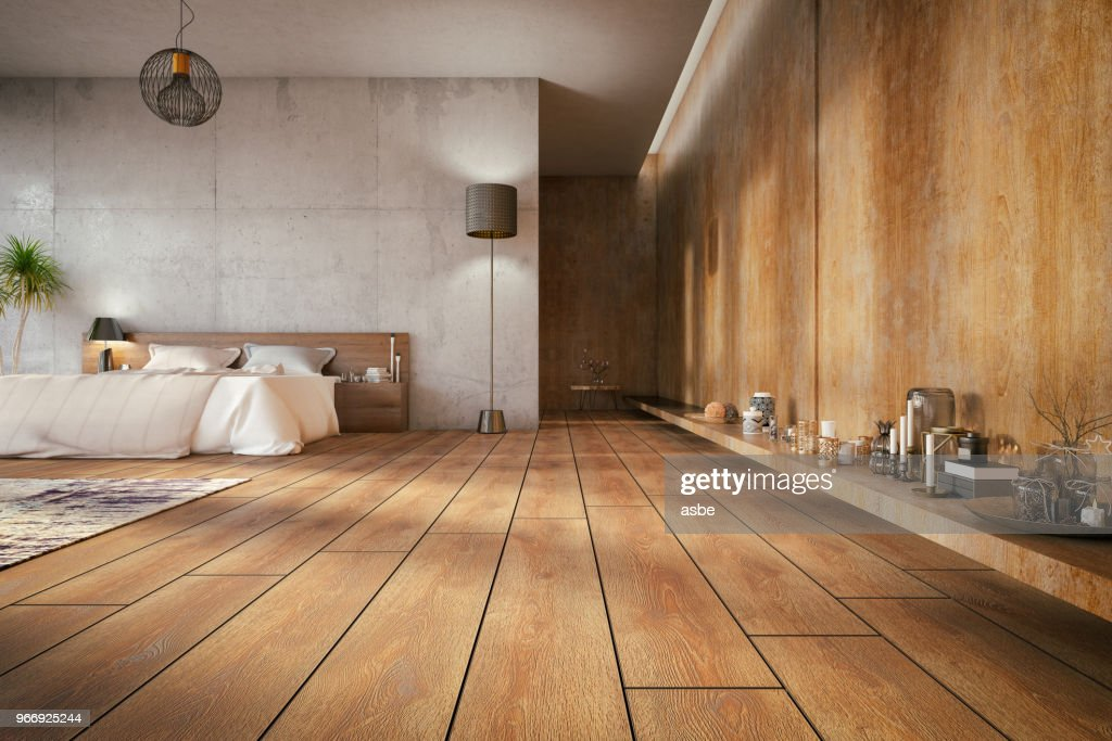 Loft Bedroom : Stock Photo