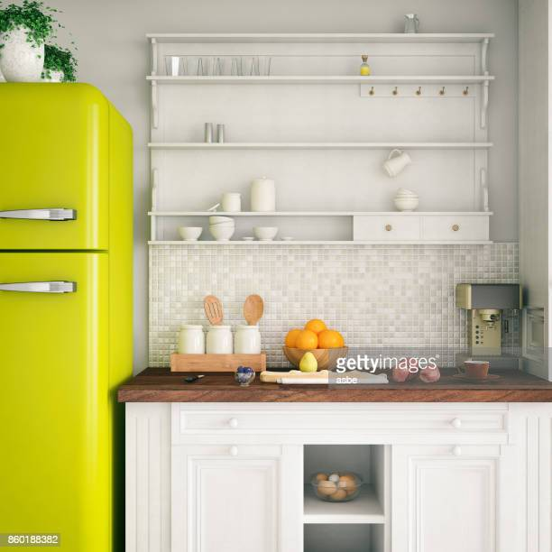 loft kitchen - kitchen stock pictures, royalty-free photos & images