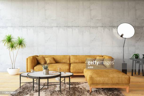 loft room with sofa - bedroom stock pictures, royalty-free photos & images