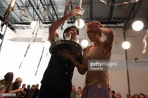 LoftOpera presents Donizetti's 'Lucrezia Borgia' directed by Laine Rettmer at LightSpace Studios on Saturday night April 4 2015This imageIsaiah...