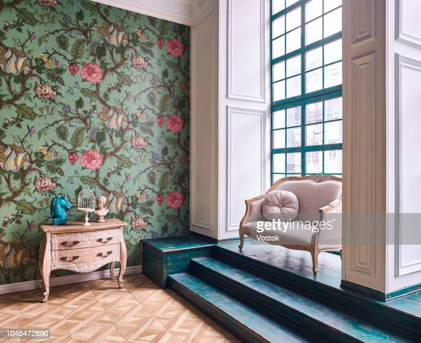 loft-studio apartment in moscow - decor stock pictures, royalty-free photos & images