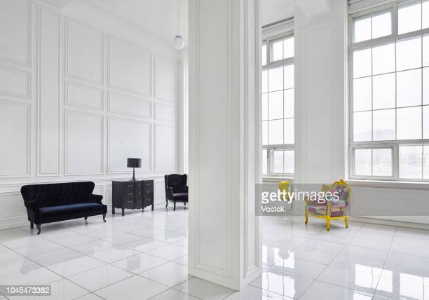 loft-studio apartment in moscow - architectural feature stock pictures, royalty-free photos & images