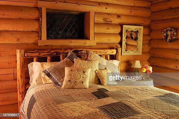 Cabana de Madeira Quarto de Dormir