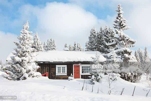 log cabin - norway stock pictures, royalty-free photos & images