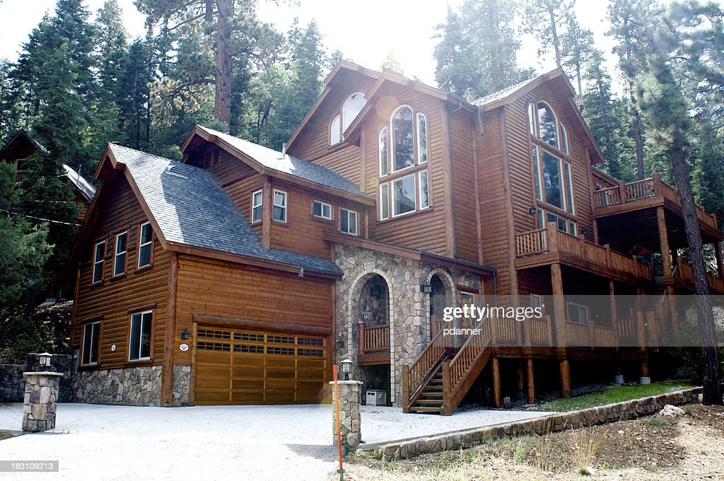 Image result for Log Home istock