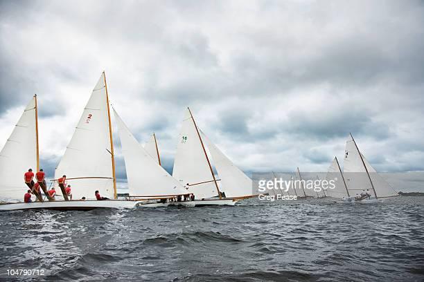 Log Canoe Sailing Regatta