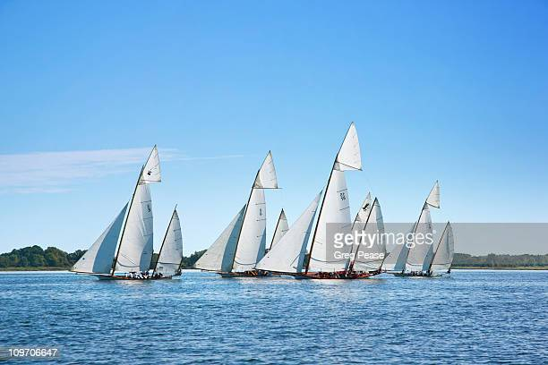 "log canoe sailing regatta - ""greg pease"" stock pictures, royalty-free photos & images"