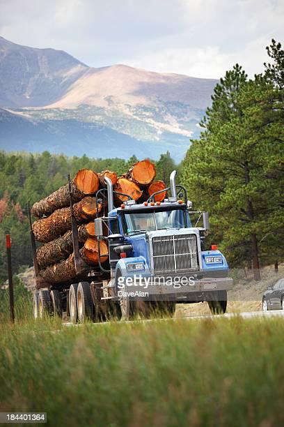 Log Truck Colorado