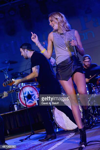 Logan Brill performs live at the American Music Festival on September 5 2015 in Virginia Beach Virginia
