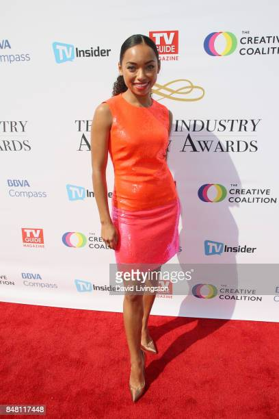 Logan Browning at the Television Industry Advocacy Awards at TAO Hollywood on September 16 2017 in Los Angeles California