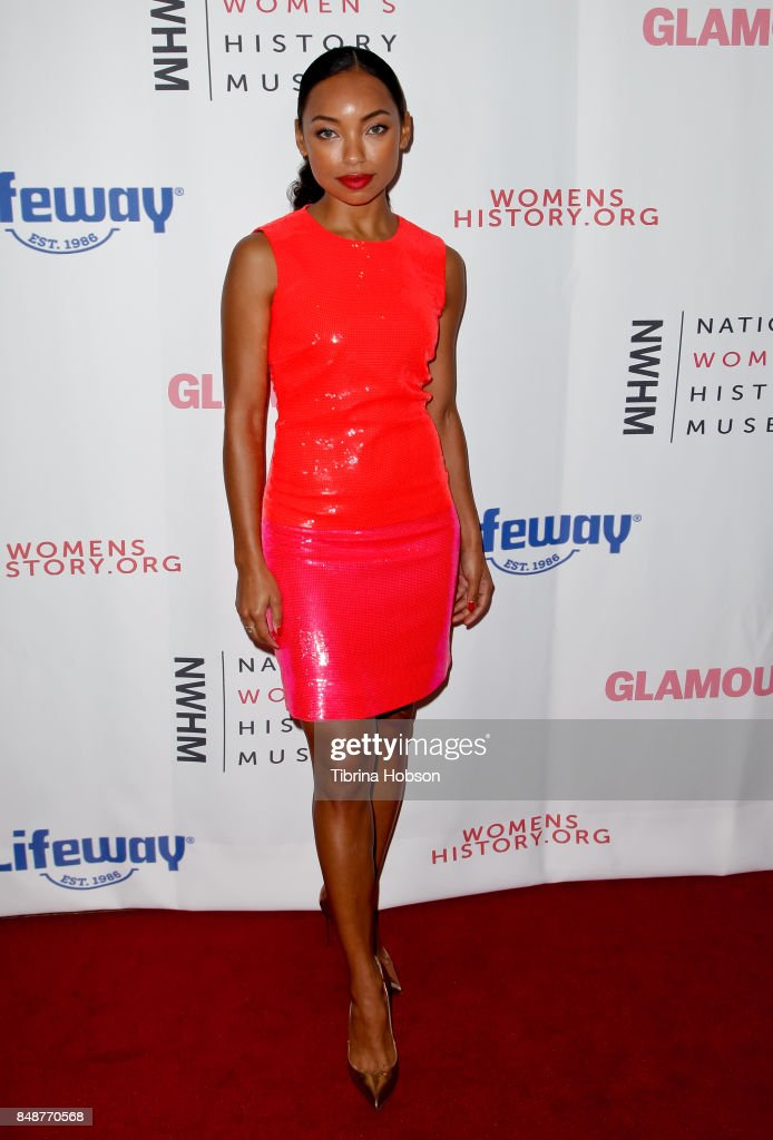 Logan Browning attends the 6th Annual Women Making History Awards at The Beverly Hilton Hotel on September 16, 2017 in Beverly Hills, California.