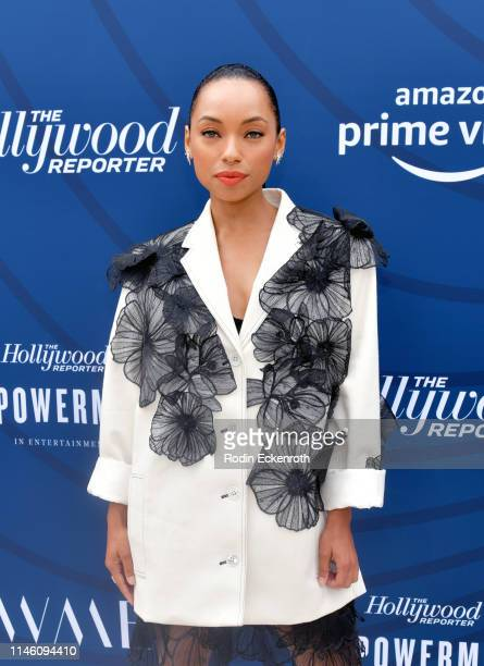 Logan Browning attends The Hollywood Reporter's Empowerment In Entertainment Event 2019 at Milk Studios on April 30 2019 in Hollywood California